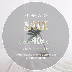 Store Wide SALE SALE SALE!!! 🎊